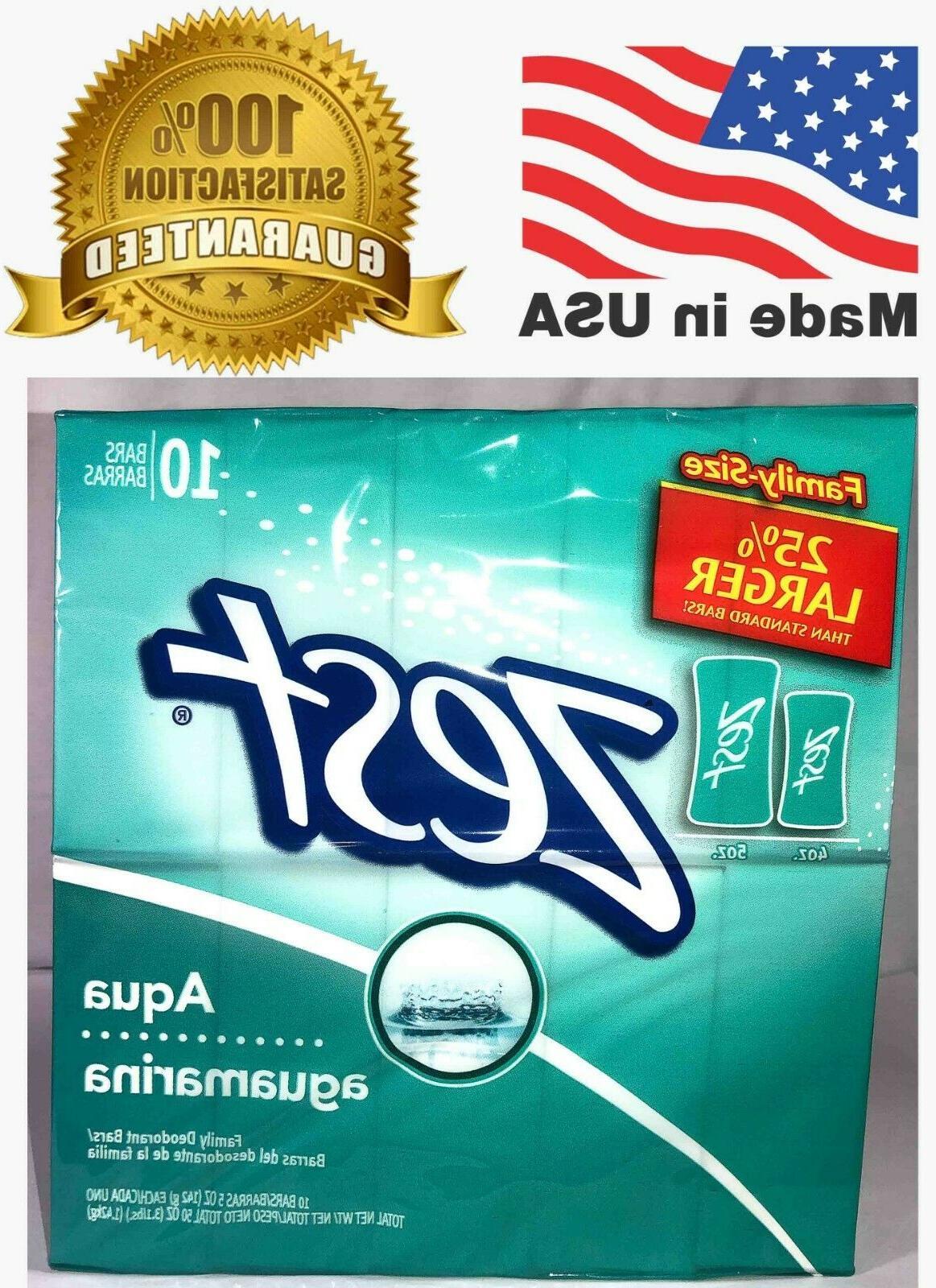 10 bars 5oz aqua aguamarina family size