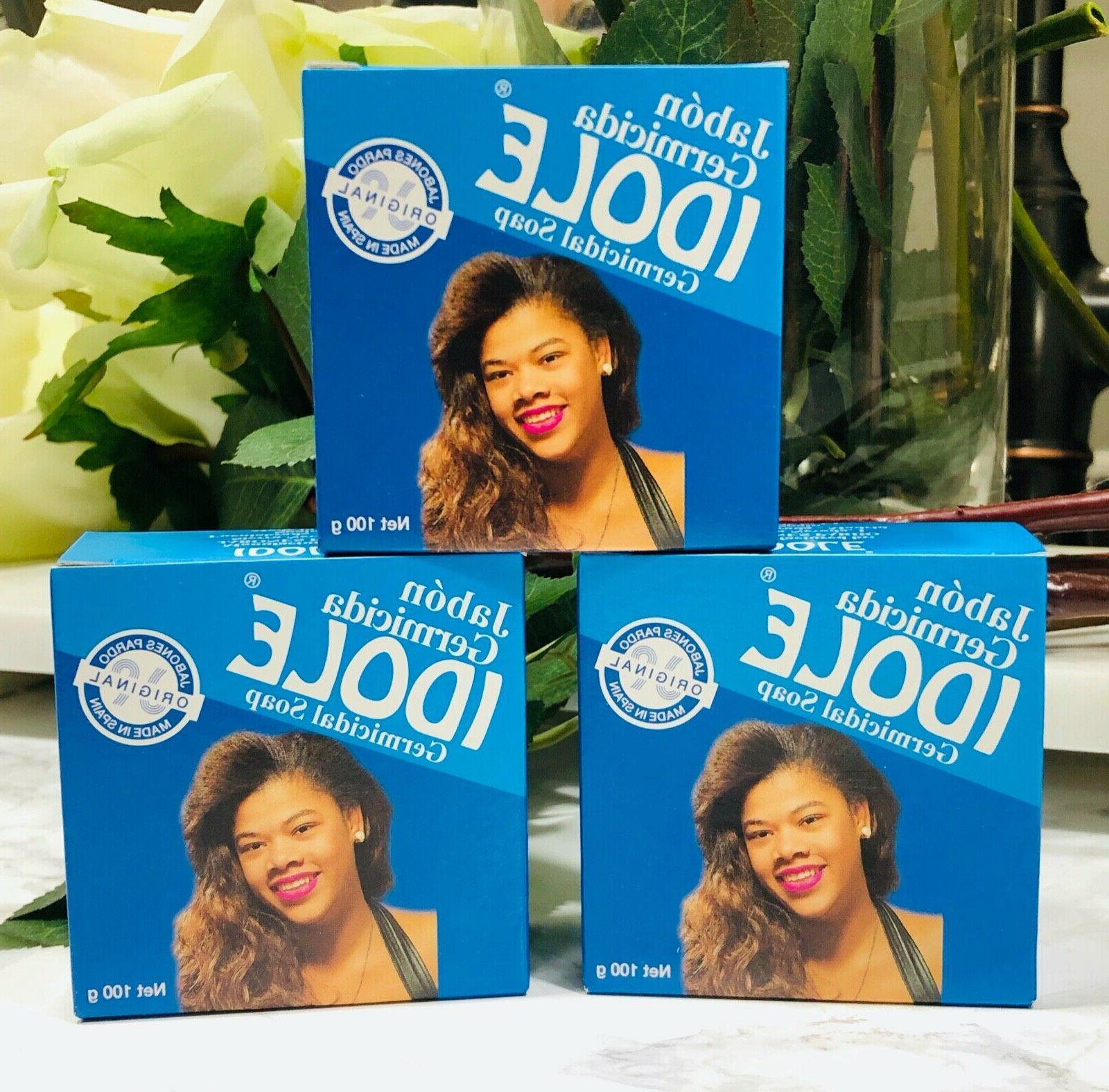 3 pack germicidal soap 100g each brand