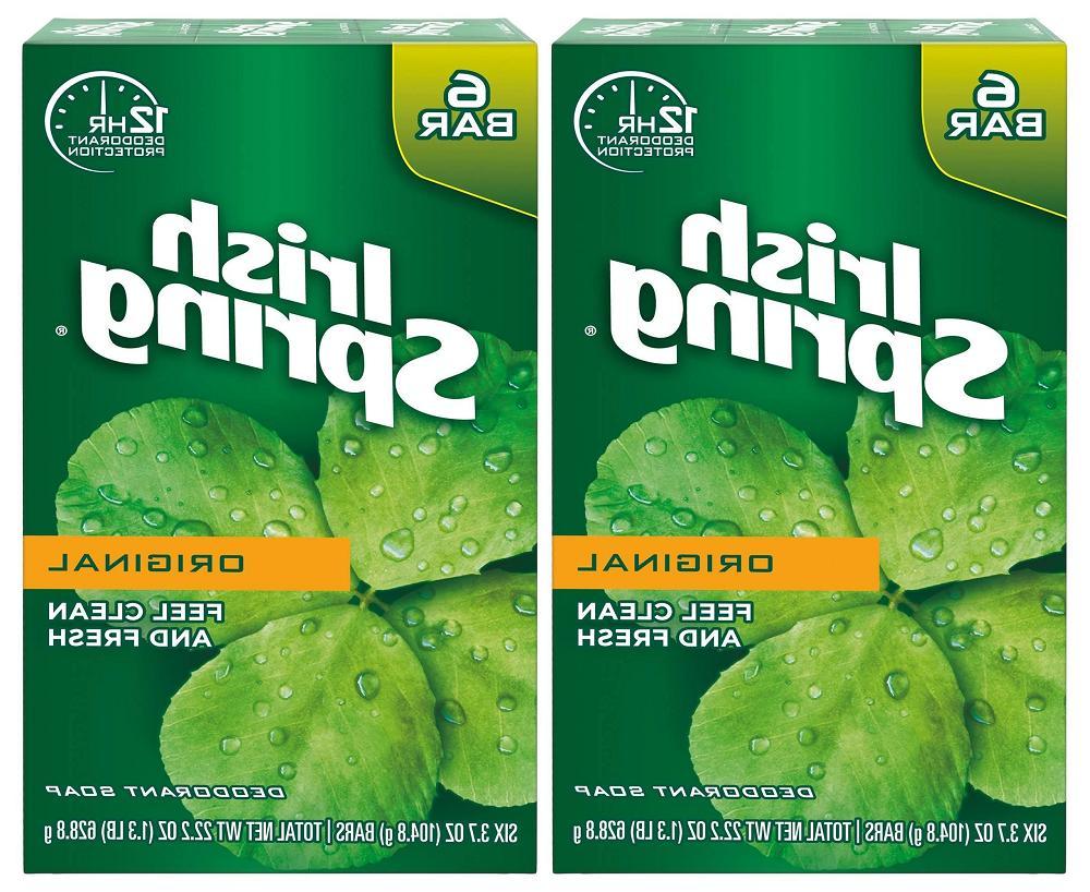 Irish Spring Deodorant Soap Original 3.75 oz