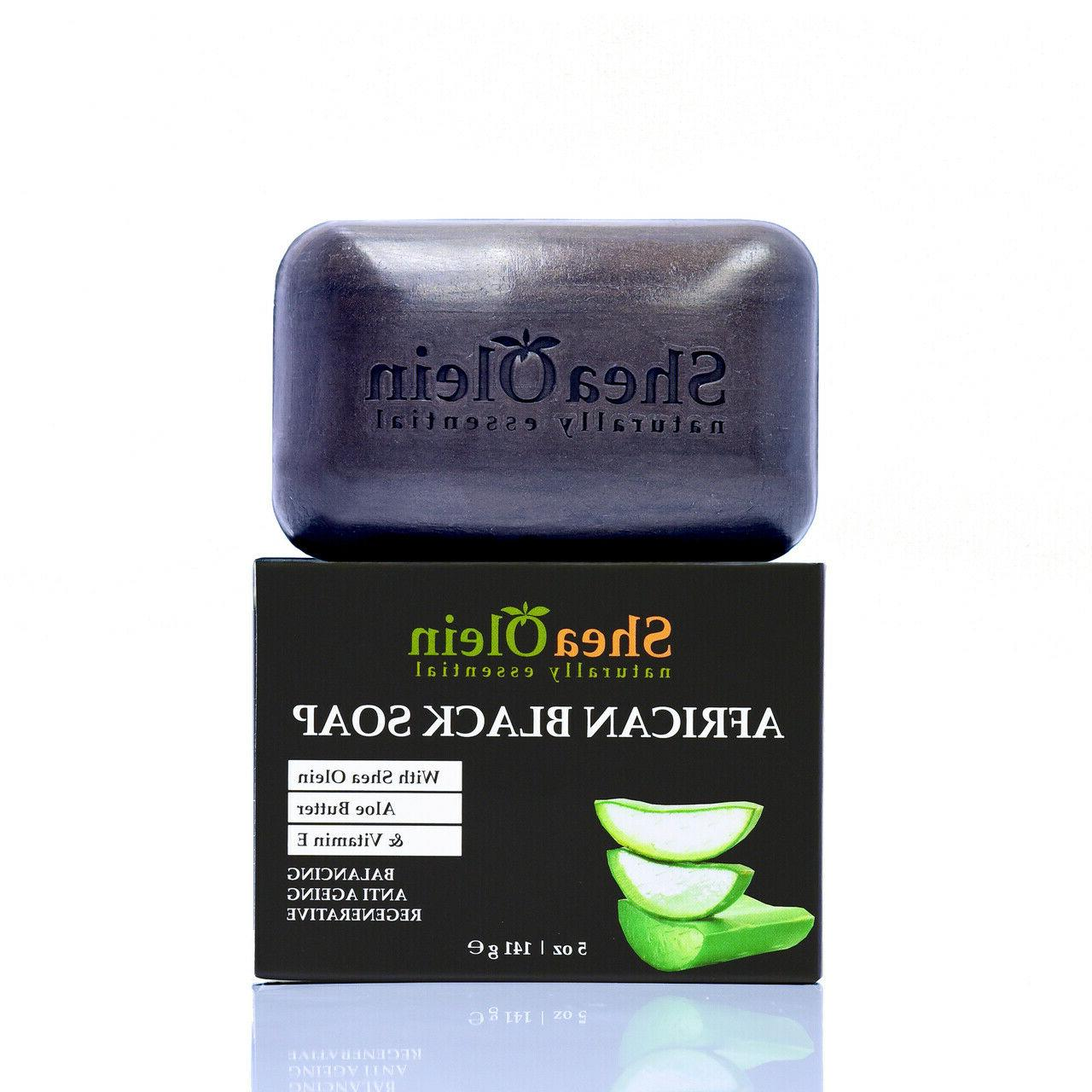 african black soap with aloe butter