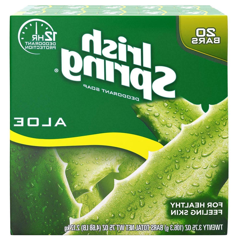 aloe deodorant bar soap 3 75 oz