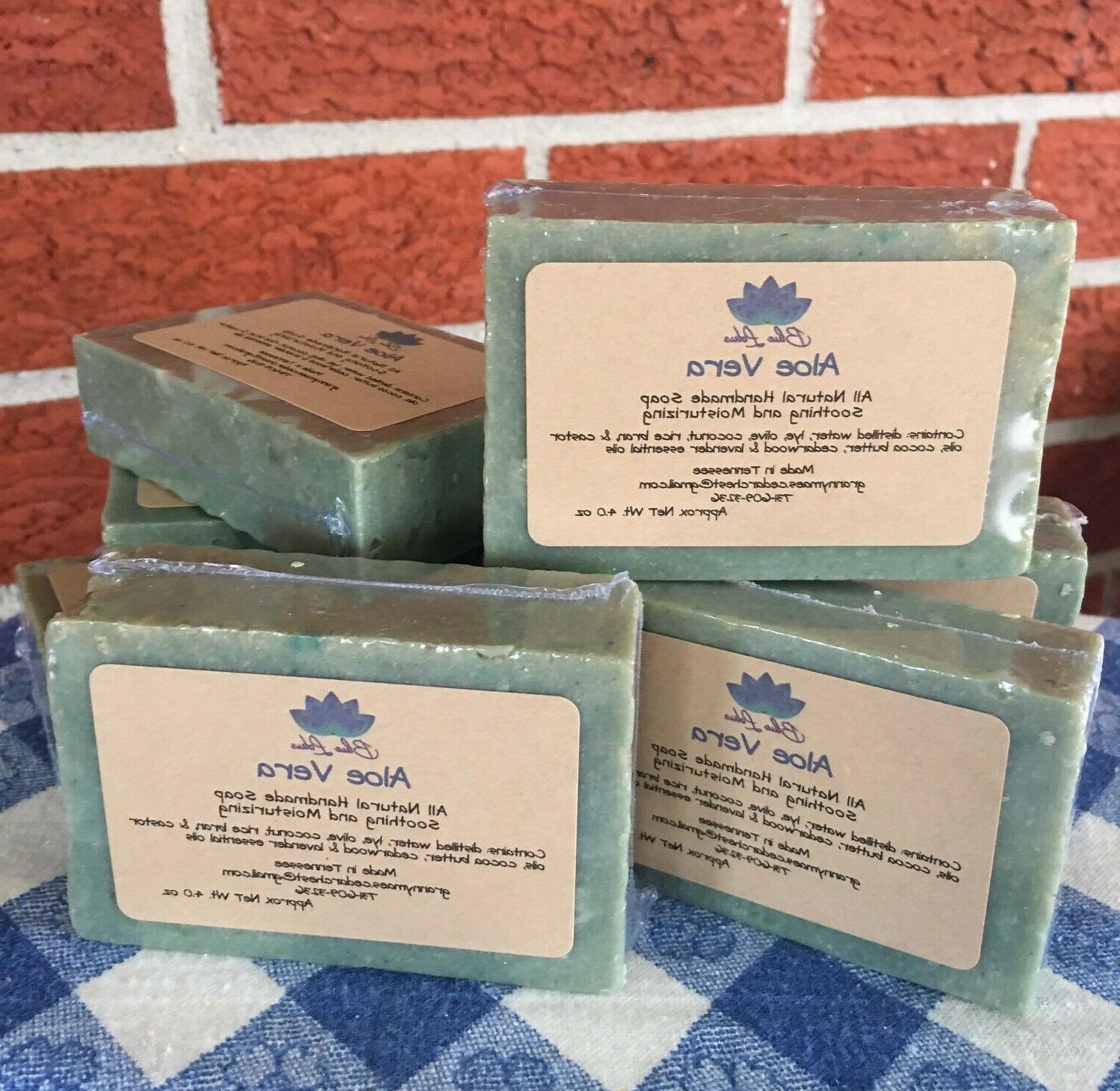 aloe vera all natural soap