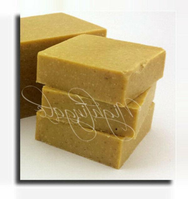 banana coconut scrub natural soap 1 lg