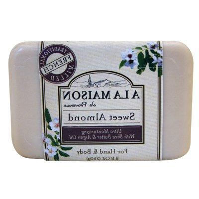 bar soap sweet almond