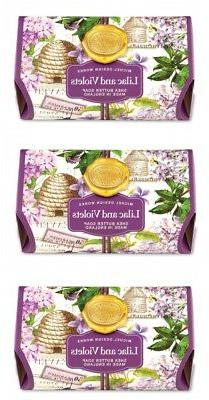 """Michel Design Works Bath Soap """"Lilac and Violets"""" scented 8."""