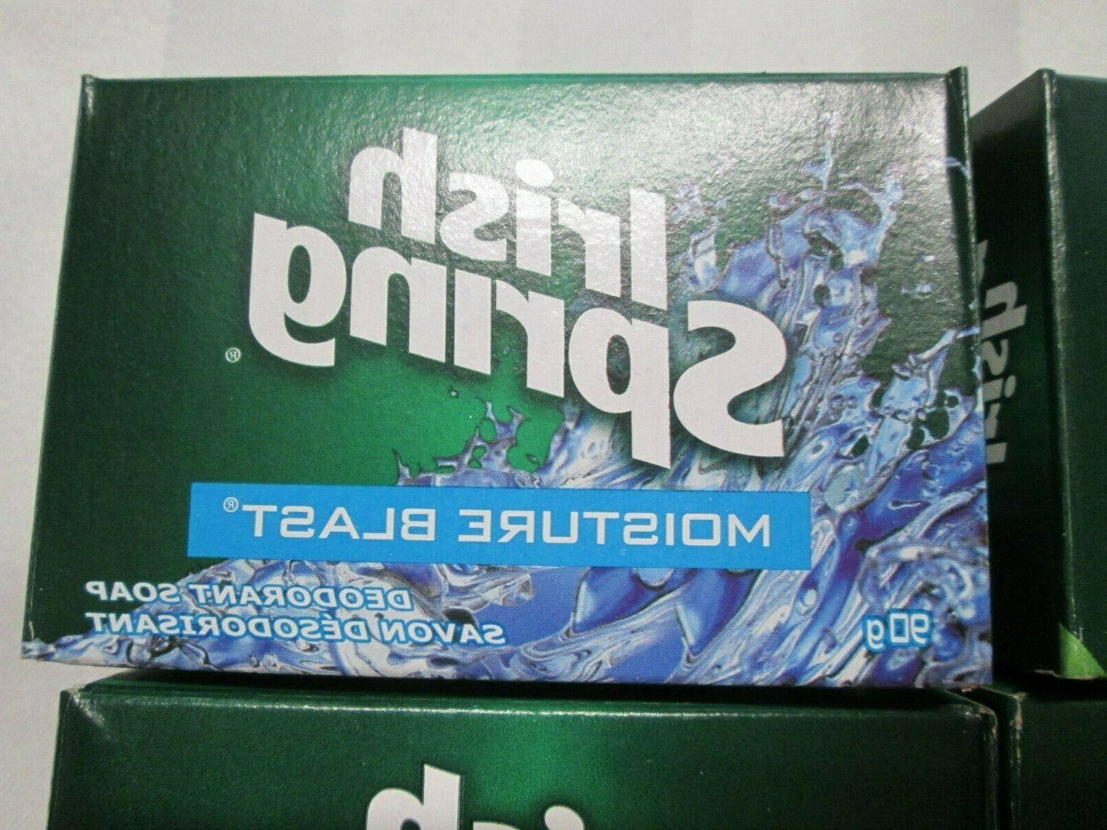 IRISH SPRING Deodorant Soap Bar of 4