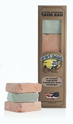 Amish Farms Handmade Bar Soap, Natural Ingredients, Cold Pre