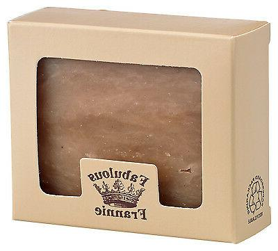 honey almond herbal soap bar made