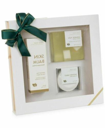 3-Pc. Bath & Gift Bar Skin Balm Tablet