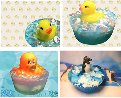 kids soap soap with toy duck soap