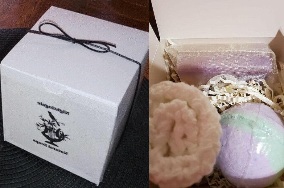 lavender natural soap gift set lg bath