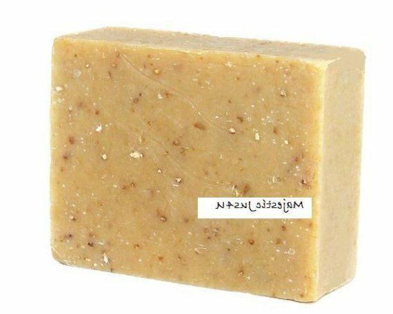oatmeal soap handmade super moisturizing gentle exfoliating