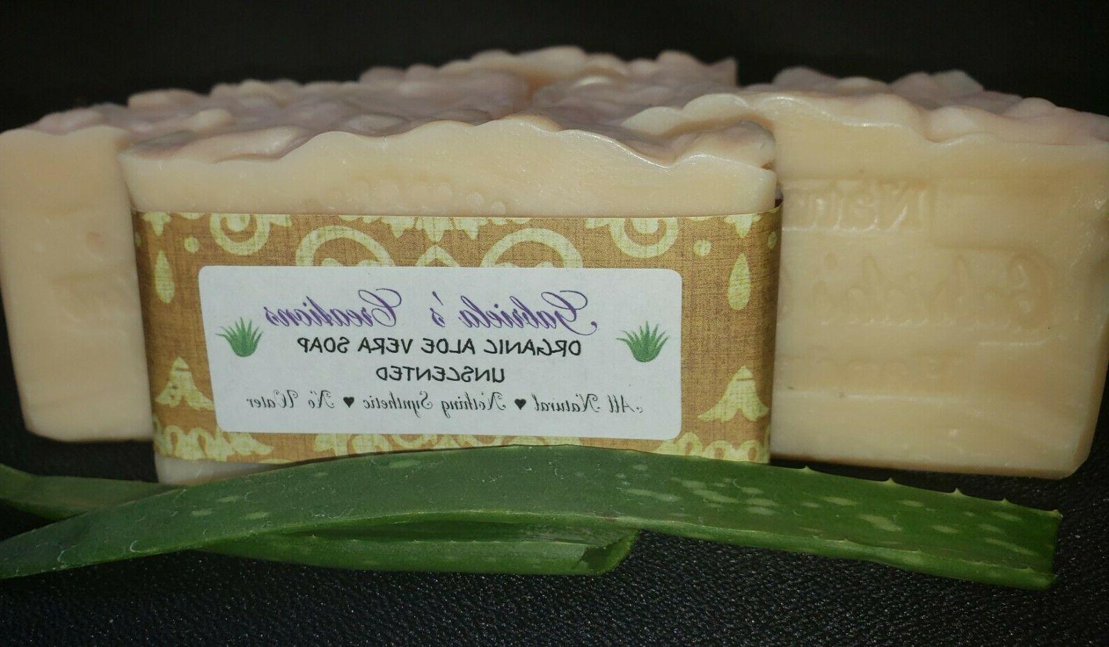 ORGANIC VERA NATURAL SOAP HANDCRAFT