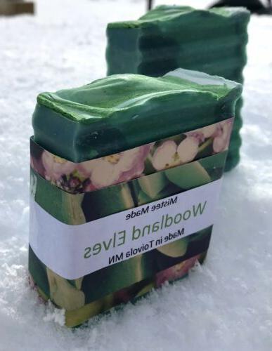 Organic soap bars Woodland Elves