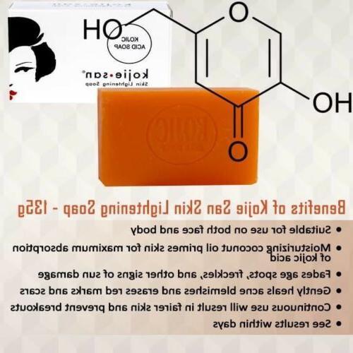 Original Skin Lightening Kojic bar