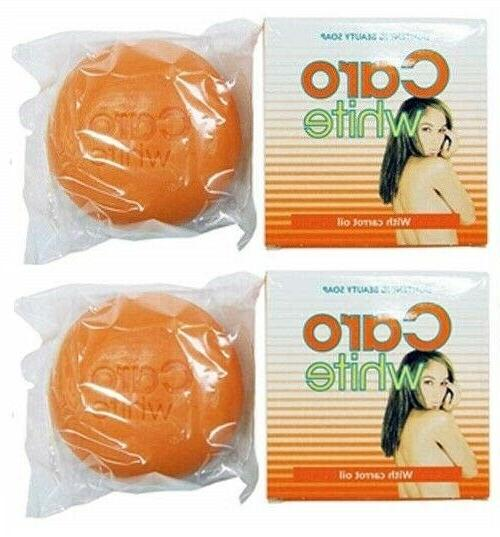 pack of 2 caro soap 100g