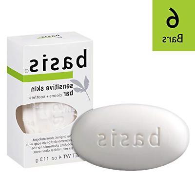 sensitive soaps skin bar 4 ounce pack