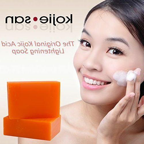 Kojie Skin Bleaching Kojic Acid Soap X 195g