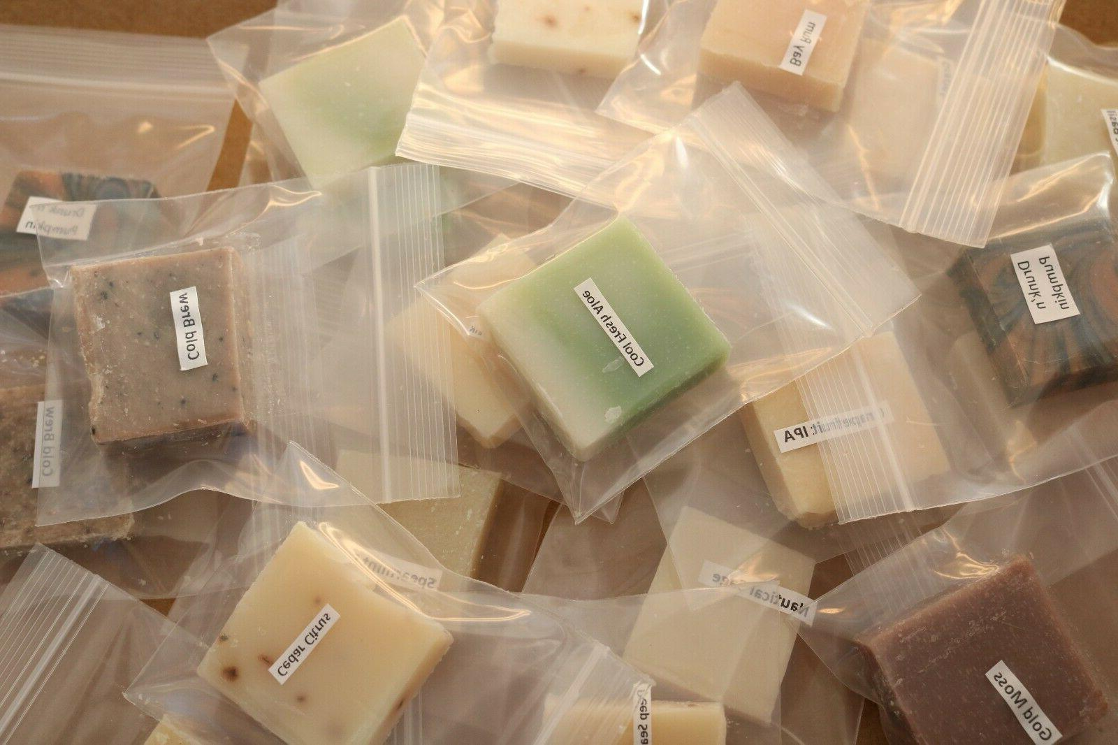 Dr Squatch Soap Sample Size Pack of 5 Mixed Scents NO REPEAT