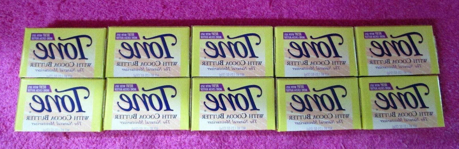vintage tone yellow bar soap with cocoa