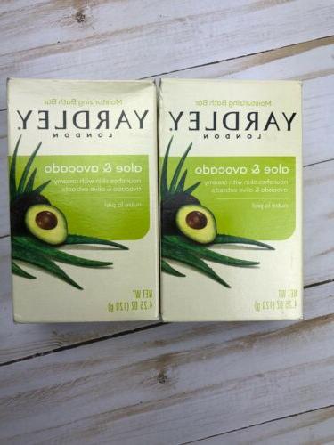 yardley soap aloe and avocado 4 25oz