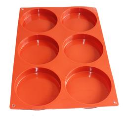 Large Round Cylinder Circle Basic Plain Soap Pancake Silicon