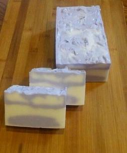 LAVENDER--Cottage Farms Shea Butter Soap Handmade 6 oz. Bar
