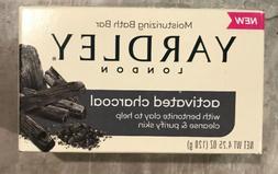 Yardley London Activated Charcoal Moisturizing Soap 3 bars F
