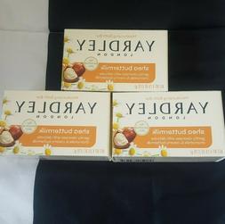 Yardley London Moisturizing Bath Bar Brand New Soap 3 pack