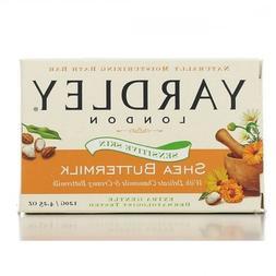 Yardley London Sensitive Skin Shea Buttermilk Bar Soap, 4.25