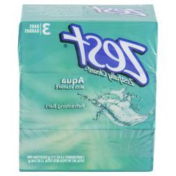 Lot 6 Packs Zest AquaPure Bath Soap, 3 Bars Each