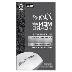 Lot 6 Packs Dove Men+Care Elements Charcoal + Clay Body, 6 B