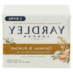 Lot 6 Packs Yardley Oatmeal and Almond Naturally Moisturizin