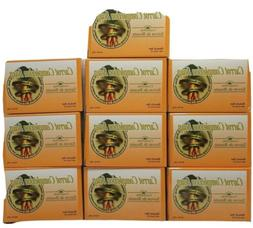 lot of 10 bars carrot complexion soap