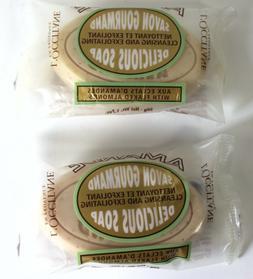 Lot Of 2 L'Occitane Almond Delicious Soap 1.7oz /EACH New SE