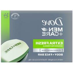 Dove Men+Care Body and Face Bar Extra Fresh 3.75 oz., 14 Bar