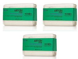 Lot of 3 C.O. Bigelow Mentha Body Exfoliating Bar Soap 7.0 o