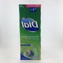 Dial Mountain Fresh 7 Antibacterial Deodorant Soap Bars