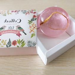 Natural Handmade Bar Soap With Rose Essence Face Soap For Wo