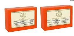 Khadi Natural Orange Soap Natural Product Bar Soap 125 gm