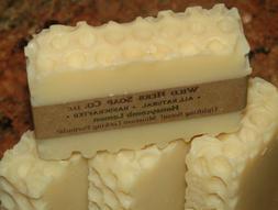 NATURAL ORGANIC SOAP BAR w/Essential Oils   Honeycomb Lemon