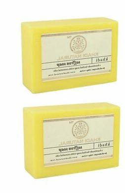 Khadi Natural Saffron Soap Natural Product Bar Soap 125 gm
