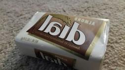 NEW Vintage DIAL SOAP BAR Almond ORIGINAL PACKAGING Sealed L