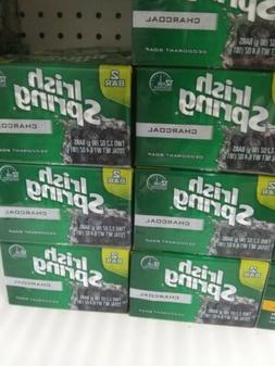 NIB LOT OF 24 BARS 12 - 2 PACKS IRISH SPRING CHARCOAL DEODOR