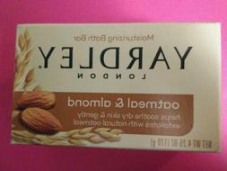 NIB Yardley London Oatmeal And Almond Moisturizing Bath Bar