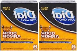 Dial for Men Odor Armor Antibacterial Soap, 4 Ounce, 8 Count