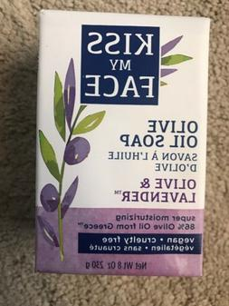 Kiss My Face Olive & Lavender  Soap Bar - 86% Olive Oil Supe