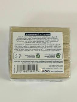 Kiss My Face Olive & Lavender Olive Oil Bar Soap, 3-4oz Bars