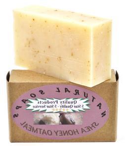 ORGANIC Handmade Shea Honey Oatmeal Soap, Unscented. So good