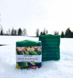 Organic handmade soap bars Woodland Elves Fragrance